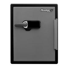 Mynd Master Lock Verðmætaskápur Eldtraustur 56,5 Lítra H:60,3cm B:47,2cm D:49,1cm Með innbyggðu þjófavarn