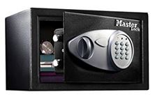 Mynd Master Lock Verðmætaskápur X075ML Takkalás 22 Lítra 7,8kg H:18cm B:43cm D:37mm