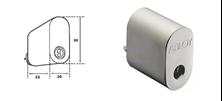 Mynd ABLOY Sylinder Króm Protec fyrir ASSA Láshús