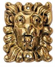 Mynd SIBES Bjölluhnappur Ljón Antik 544 ANTIK (Ath ekki litur á mynd)