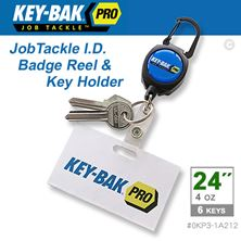 "Mynd KEY-BAK Snúra ID/Keys 24"" Kevlar Lyklar/Kort"