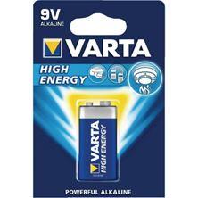 Mynd VARTA Rafhlaða Power/High Energy Alkaline 9V 1x